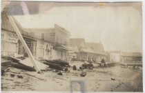 Image of [Storm damage at South Beach, Staten Island] - Print, Photographic