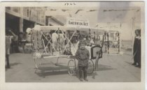 Image of Parade float on the boardwalk at South Beach, Staten Island, 1922