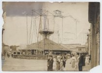 Image of Circle Swing and Water Carousel, South Beach, Staten Island, 1906