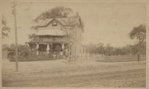 Image of Tom Brown's Hotel, South Beach, Staten Island, ca. 1885-1900