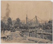 Image of Laying of cornerstone for Borough Hall, 1904