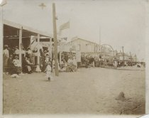 Image of Boardwalk, South Beach, Staten Island, ca. 1900-1910