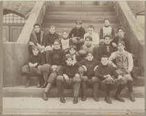 Image of Staten Island Academy football team, 1899