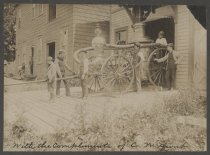 Image of Cataract Fire Company No. 2 pumper, ca. 1870s-1890s