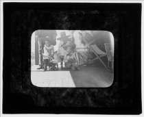 Image of Group of Children - Transparency, Lantern-slide