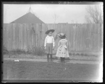 Image of Elizabeth Patty and William Munroe Austen, photo by Peter T. Austen, 1889
