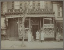 Image of Heidemeyer's Delicatessen, ca. 1900
