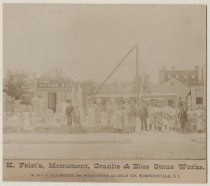 Image of K. Feist's, Monument, Granite & Blue Stone Works. - Print, Photographic