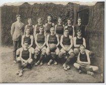Image of Staten Island Academy basketball team, 1916-1917