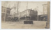 Image of Intersection of Arietta Street and Tompkins Avenue, ca. 1898