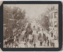 Image of Decoration Day parade, Central Avenue, 1898