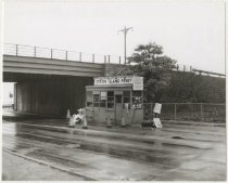 Image of [69th Street Ferry, Brooklyn Terminal ticket booth] - Print, Photographic