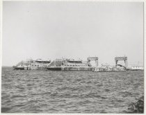 Image of [69th Street Ferry, Brooklyn Terminal, two ferries in slips] - Print, Photographic