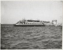 Image of 69th Street Ferry, Brooklyn, photo by Herbert L. Van Cott, 1964