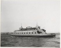 Image of [69th Street Ferry, ferry boat St. George arriving at Brooklyn Terminal] - Print, Photographic