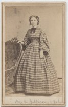 Image of Portrait of Miss L Gillmore, ca. 1860s