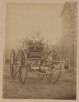 Image of Alert Hose Company No. 1 hose wagon, ca. 1890