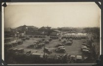 Image of Parking lot and swimming pool, Midland Beach, 1924