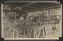 Image of Interior of a restaurant, Midland Beach, 1924