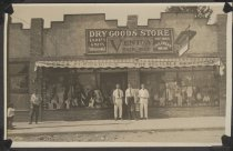 Image of [Dry goods store] - Postcard