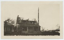 Image of Fire-damaged house at Midland Beach, 1924