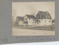 Image of [Houses on Bayview Avenue] - Print, Photographic