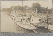 Image of Lemon Creek -- Oyster Boats - Print, Photographic