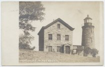 Image of Postcard, Lighthouse, Prince Bay N.Y., ca. 1901-1907