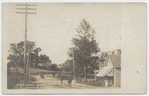 Image of View, Amboy Road. Pleasant Plains, N.Y. - Postcard