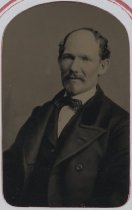 Image of Tintype portrait of Alonzo Butts (detail), ca. 1880