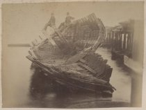 Image of Wreck at Clifton S.I. - Print, Photographic