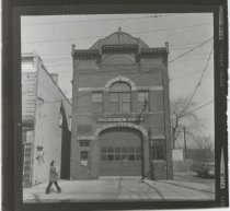 Image of Fire House, Ladder Company 79, photo by Raymond C. Fingado, 1975