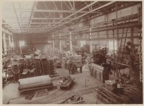 Image of Workshop, C.W. Hunt Company, ca. 1890s-1910s