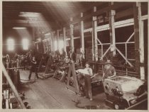 Image of [Machine shop, C.W. Hunt Company] - Print, Photographic