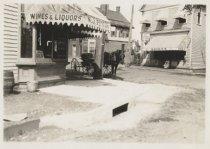 Image of [Station Avenue toward Amboy Road] [Station Avenue looking toward Amboy Road] - Print, Photographic