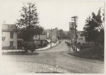 Image of Amboy Road from Bloomingdale Road, photo by Ernest Seehusen, ca. 1909