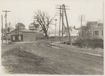 Image of [Amboy Road looking north from Maguire Avenue] - Print, Photographic