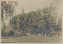 Image of [St. Andrew's Church and cemetery] - Print, Photographic