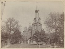 Image of Church of the Ascension, photo by Charles M. Steinrock, ca. 1909