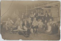 Image of [First auto and gas engineering class, Public School 1] - Print, Photographic