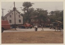 Image of [Moving the Boehm House]  - Print, Photographic