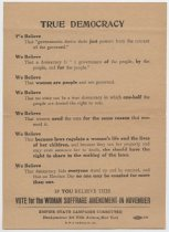Image of Handbill, Political -