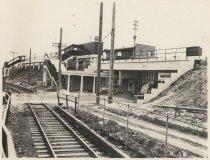 Image of [Grade crossing elimination, Eltingville Station] - Print, Photographic