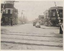 Image of [Lincoln Avenue grade crossing] - Print, Photographic