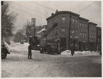Image of [Snow removal, Targee Street and Broad Street] - Print, Photographic