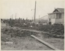 Image of [Jefferson Avenue sewer construction] - Print, Photographic