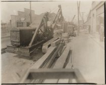 Image of [Construction on Amboy Road] - Print, Photographic
