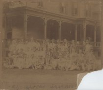 Image of Staten Island Cricket Club. July 4th 1886 - Print, Photographic