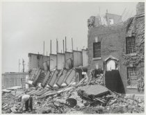Image of Demolition of Richmond County Jail, 1959