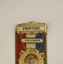 Image of Ribbon, Membership - 2015.016.01